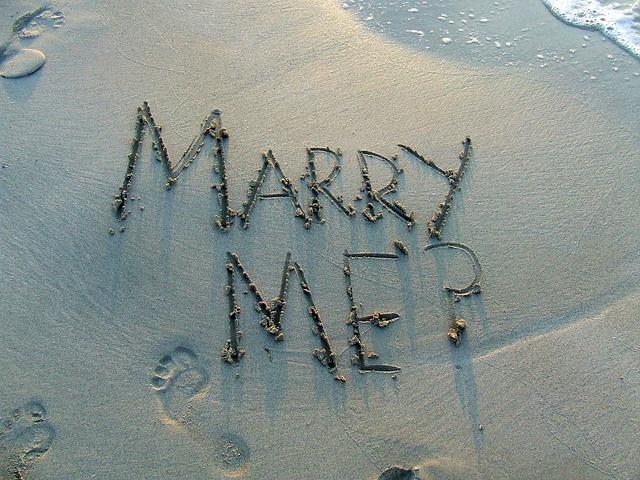 הצעת נישואין שף פרטי
