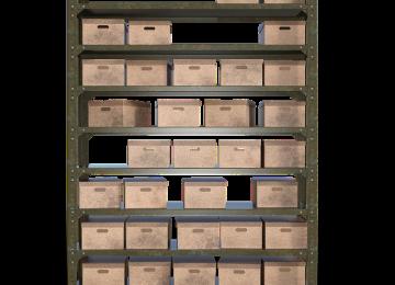 סדרו לכם את המחסן באמצעות מדפי מתכת