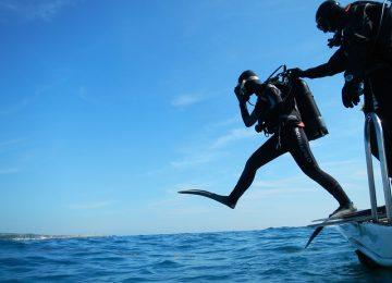 צלילת היכרות באילת בחוף אלמוג