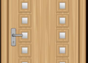 דלתות חוץ פשוטות ומעוצבות